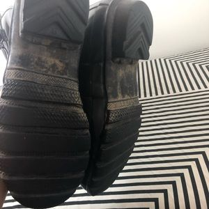 Hunter Shoes - Hunter black tall rain boots